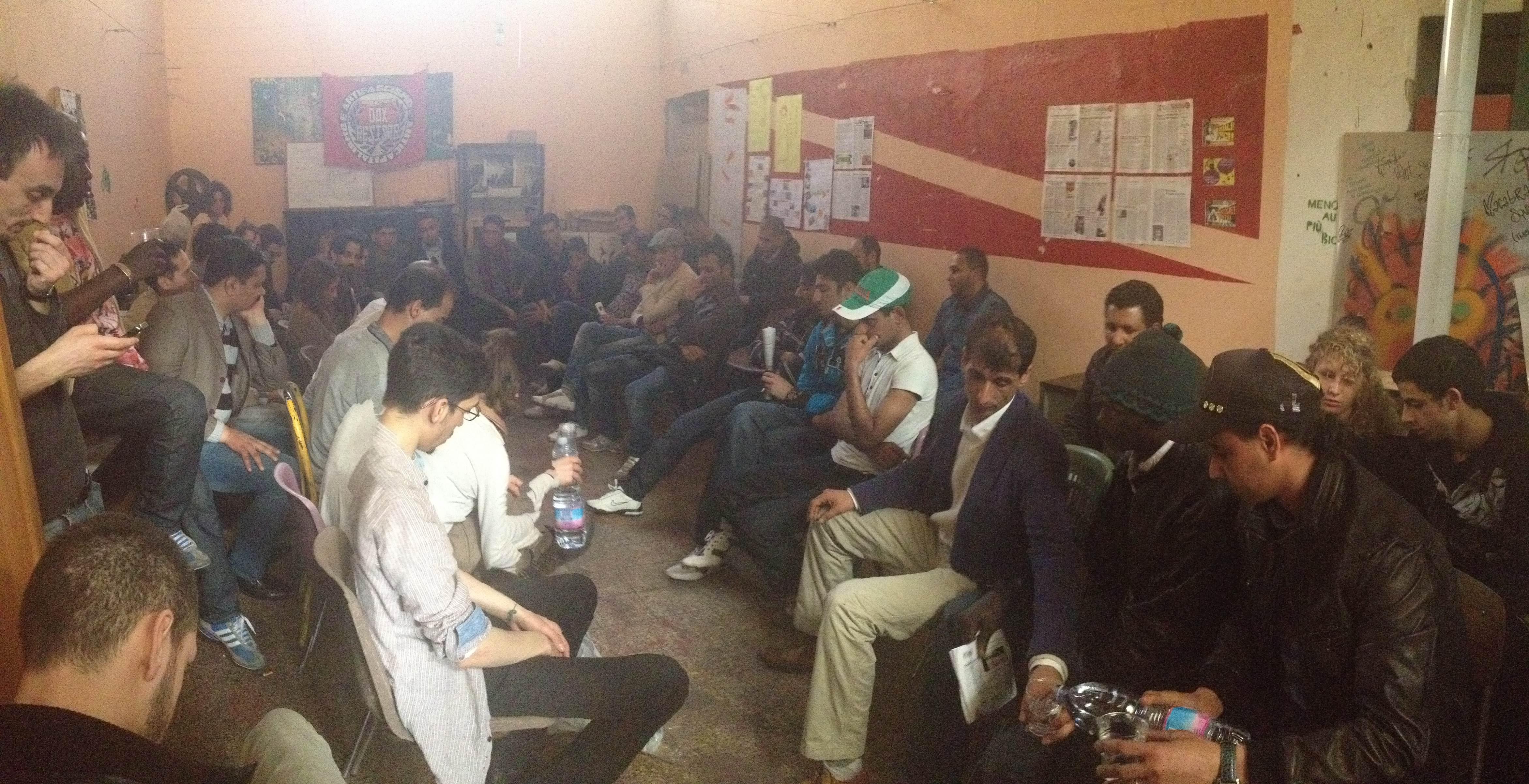 Bastabossifini continua 19 maggio assemblea dei migranti - Piscina san giuliano milanese ...