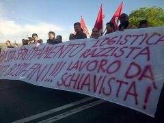 Foto: sciopero Interporto