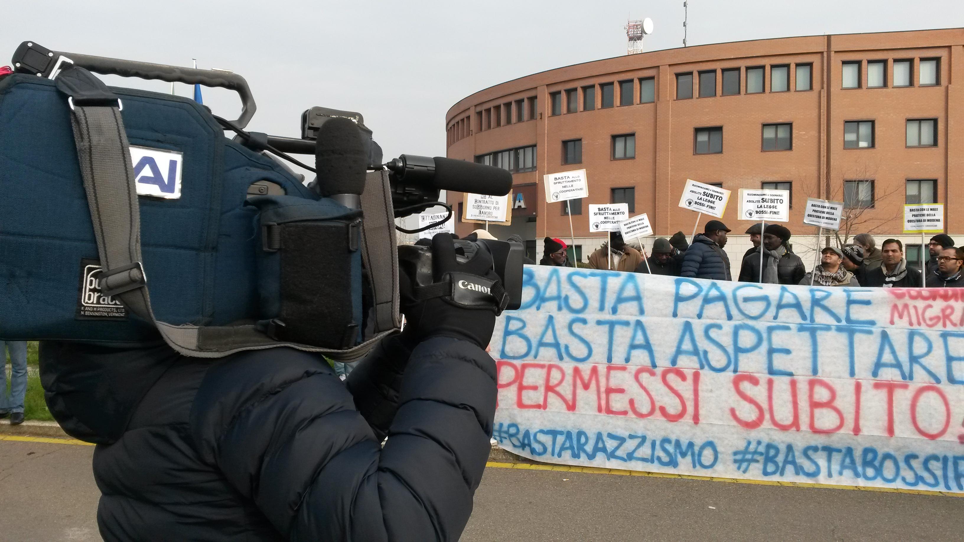 Lettera pubblica dei migranti alla Questura di Modena  