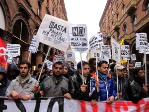 Manifestazione dei migranti a Bologna - 23 marzo 2013